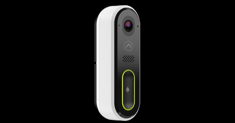 Alarm.com ADC-vdb770 Video Doorbell Camera angle